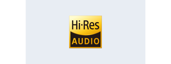 Logotipo de High-Resolution Audio de la HT-Z9F