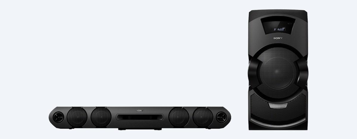 Sistema de audio en casa completo para un sonido potente | MHC-GT3D