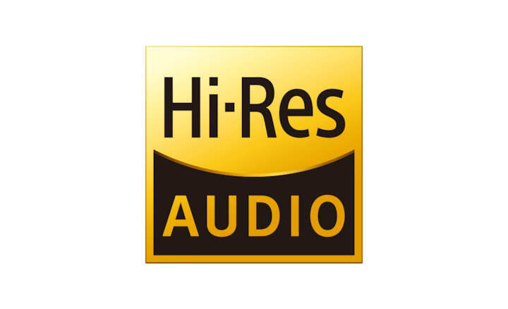 Logotipo de audio de alta resolución