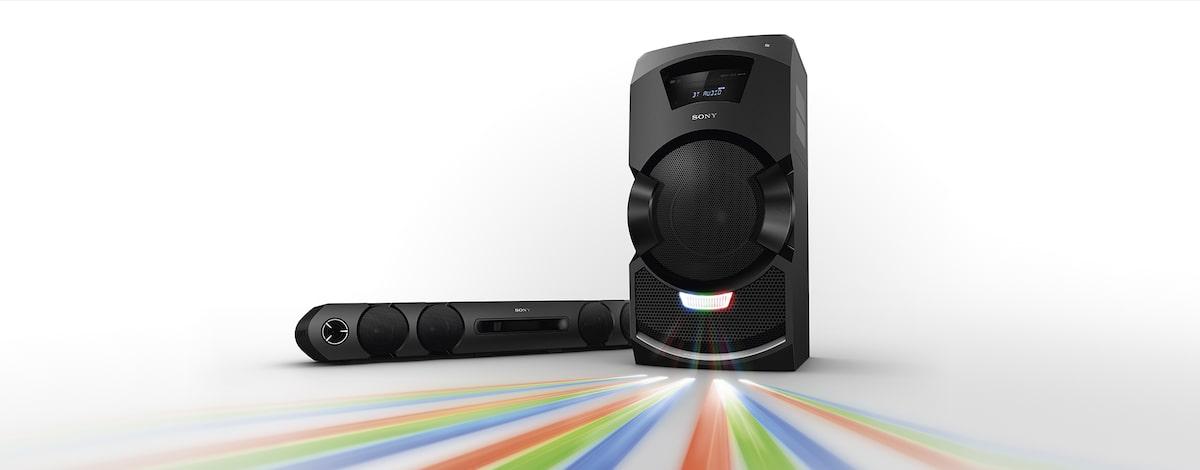 Sistema de audio en casa completo para un sonido potente   MHC-GT3D